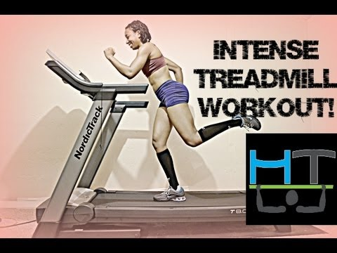 fitness intense total body treadmill workout